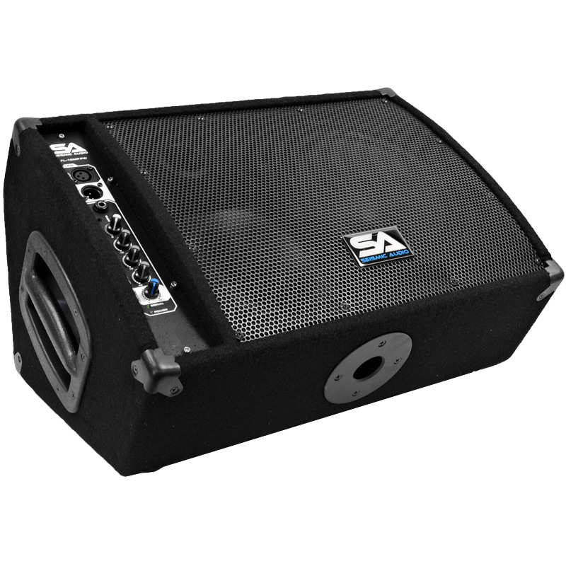 "Seismic Audio Premium Powered 2-Way 10"" PA Floor Monitor ..."
