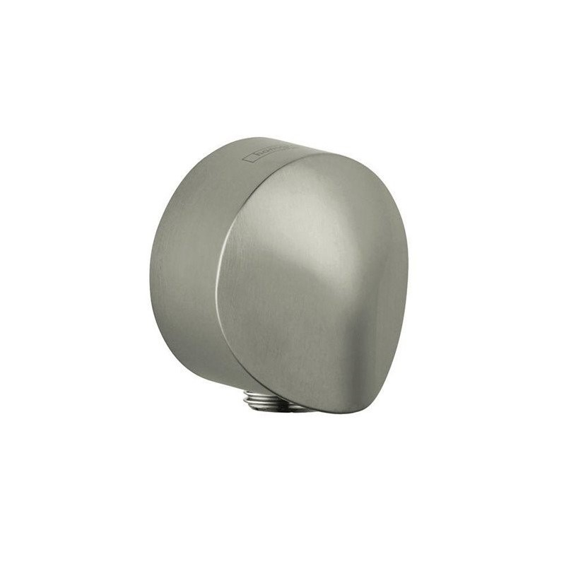 "Hansgrohe 27454932 ShowerPower Wall Supply Elbow Knob with 1/2"" Connection, Various Colors"