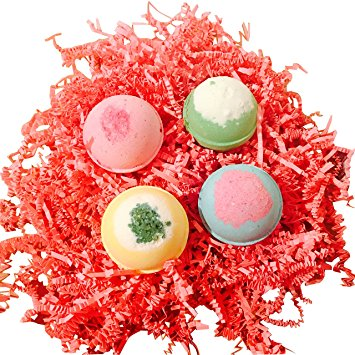 Birds in a Nest Bath Bomb Set/Set of 4 Cutie Bath Bombs in a Set