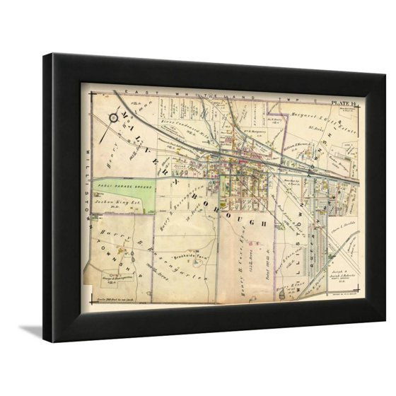 1912, Malvern, Pennsylvania, United States Framed Giclee Print Wall ...