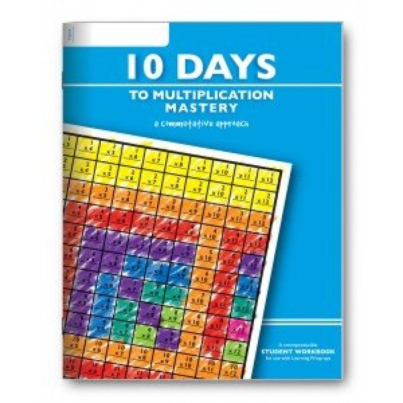 Learning Wrap-ups 10 Days to Multiplication Mastery Student Workbook