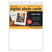"Strathmore Digital Photo Cards, 5"" x 7 "", Matte"