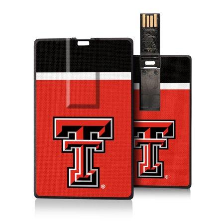 Texas Tech Red Raiders Stripe Credit Card USB Drive 16GB