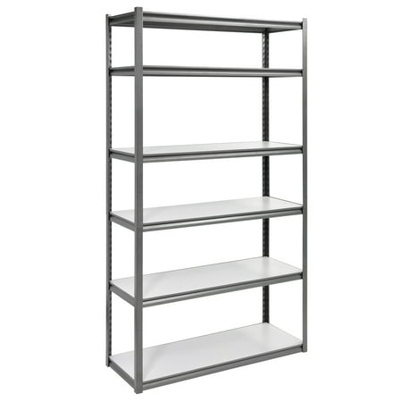 6 Shelf 48W X 84H 18D Steel Storage