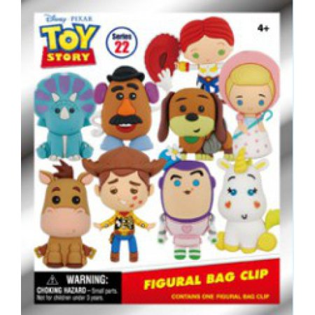 3D Figural Foam Bag Clip Disney Series 22 Toy Story Classic Mystery