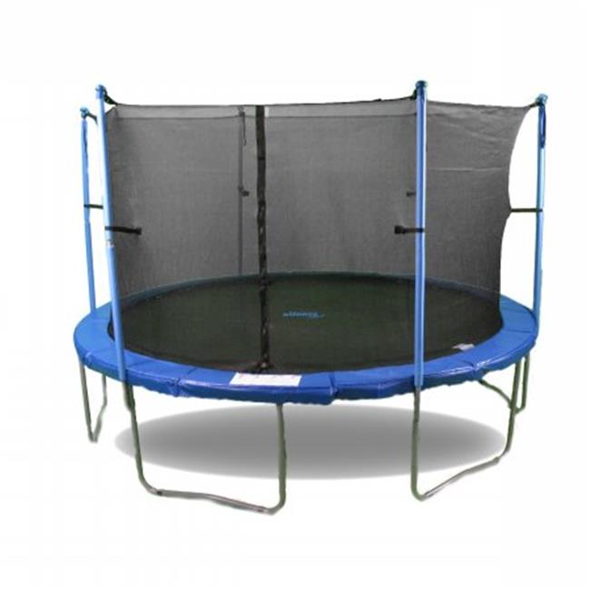 Upper Bounce 16 ft. Trampoline and Enclosure Set Equipped with The New Upper Bounce Easy Assemble Feature