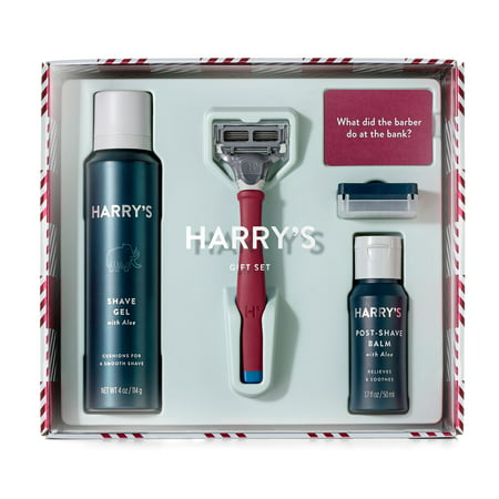 Harry's Holiday Men's Shave Set with Ember Handle (Limited Edition)