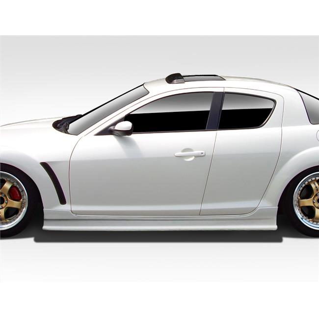 Extreme Dimensions 109485 2004-2008 Mazda RX-8 Duraflex Type F Side Skirt Rocker Panels
