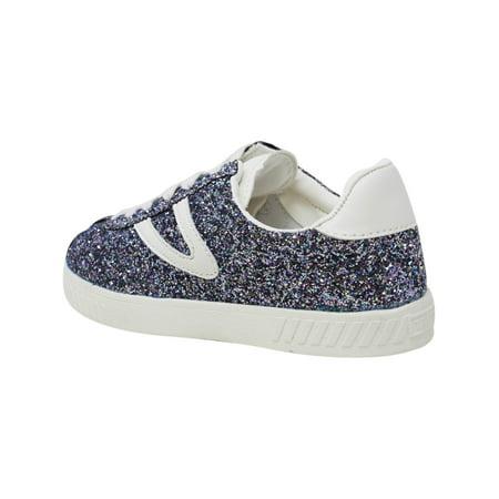 Tretorn Women's Camden 5 Rose White Ankle High Fashion Sneaker 7.5M