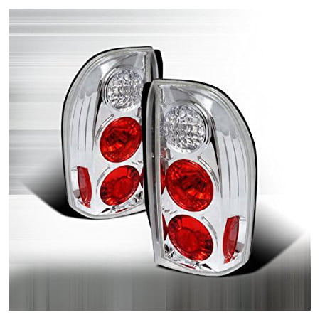 1999-2004 Suzuki Vitara, 1999-2004 Suzuki Xl-7 Altezza Tail Lights Chrome
