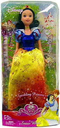 Disney Princess Sparkling Princess Snow White Doll by Mattel, Inc.