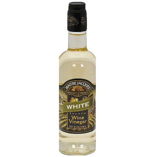 ***Discontinued by Kehe 06.10***Maitre Jacques WhiteFrench Wine Vinegar, 16.9 oz (Pack of 6)