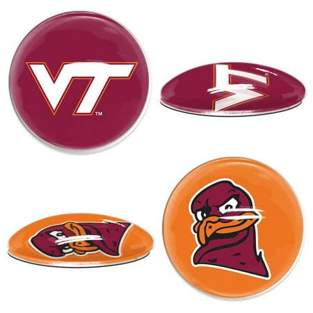 Virginia Tech Hokies Official NCAA  Sport Dotts Magnet 2 Pack by Wincraft