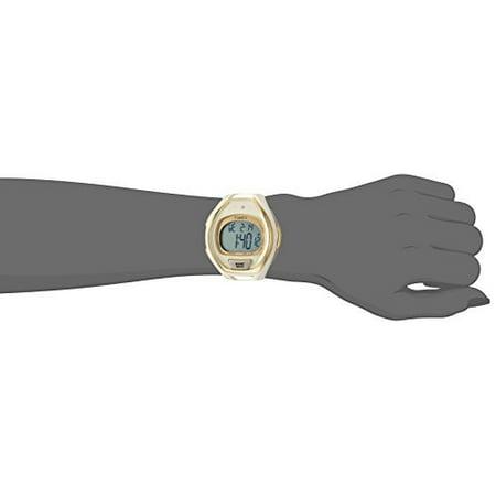 Strap Resin 50 Tone Tw5m06100 Full Sleek Size Whitegold Watch Timex Unisex Ironman VSpqUzM