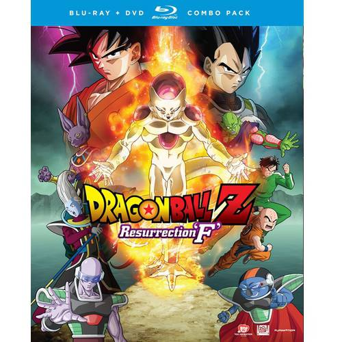 Dragon Ball Z: Resurrection 'F' (Blu-ray + DVD + Digital HD) (With INSTAWATCH)
