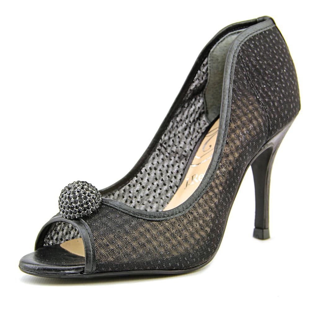J. Renee Genette Women N S Peep-Toe Canvas Heels by J. Renee