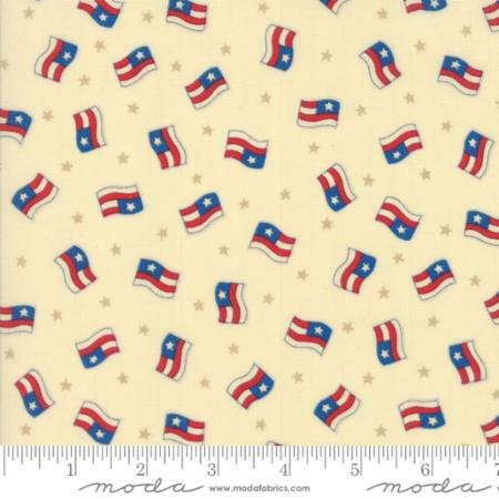 Clearance Sale~Sew American~Flags Cotton Fabric by Moda
