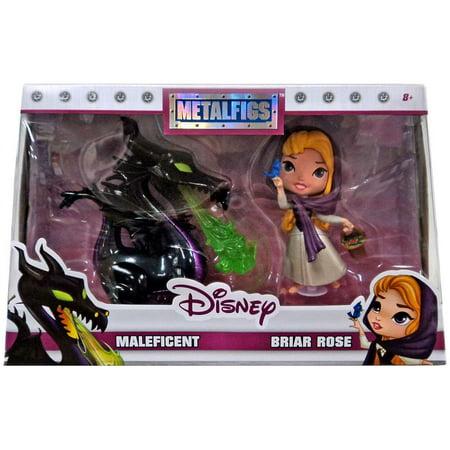 Version Diecast Figure - Disney Metalfigs Maleficent & Briar Rose Diecast Figure 2-Pack