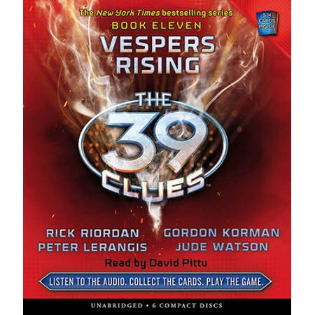 39 Clues Book 11, The: Vespers Rising - Audio