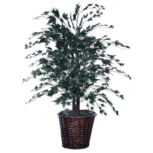 Vickerman TBU1640 4-ft Permanent Silver Maple Bush Tree