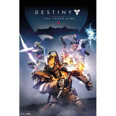 Destiny Taken King Poster Poster Print