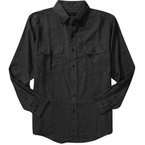Faded Glory - Big Men's Flannel Button-Down Shirt