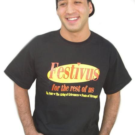Kramers Lobster Shirt (Festivus For The Rest Of Us T-Shirt Seinfeld Kramer Frank Costanza)