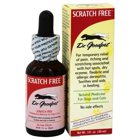 Fish Dog Canned Formula - Dr. Goodpet - Scratch Free Homeopathic Formula For Dogs & Cats - 1 fl. oz.