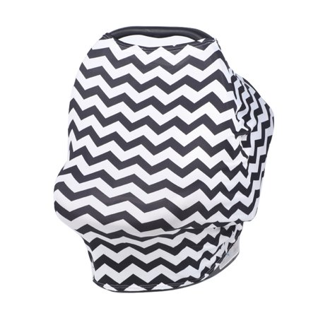 Nursing Cover Car Seat Canopy Shopping Cart High Chair and Carseat Cov