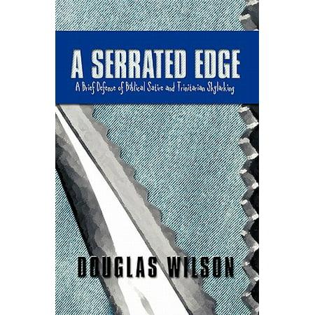 A Serrated Edge : A Brief Defense of Biblical Satire and Trinitarian Skylarking - A Christian Defense Of Halloween