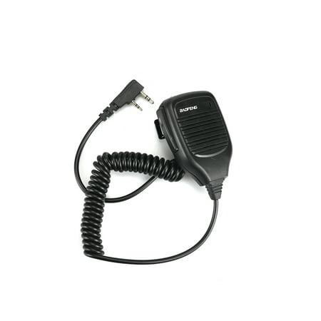 Baofeng PTT Speaker Mic For Kenwood UV-5R TYT Retevis H777 Walkie Talkie Ham Radio Hf