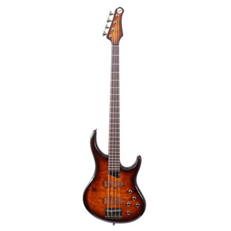"MTD Kingston ""The Z"" Bass Guitar (4 String, Rosewood/Tobacco Sunburst)"