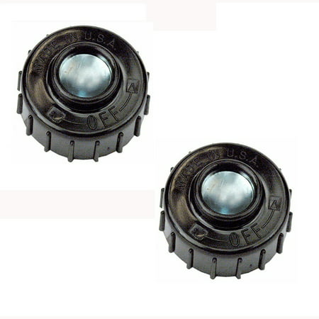 Chicken Head Amp Knob - (2) Trimmer Head Bump Knobs for Homelite Ryobi MTD Mcculloch 5/16-18