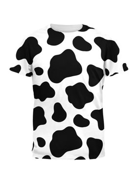 26d0c7f7dcb2 Product Image Cow Pattern Costume All Over Adult T-Shirt