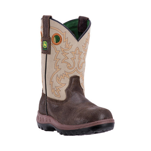 Children's John Deere Boots Everyday Child Growin' Like a Weed Pull-On 2417 by John Deere