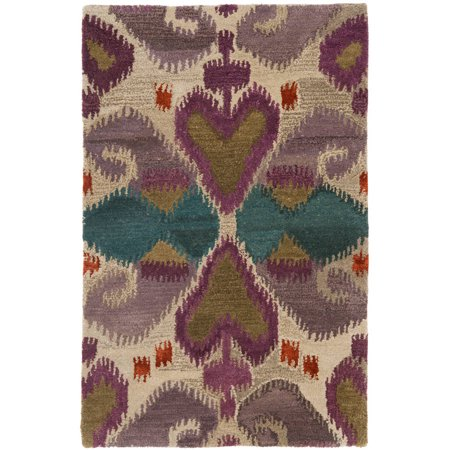 Safavieh Wyndham Gervase Hand-Tufted Wool Area Rug or Runner, Ivory/Multi