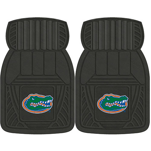 NCAA 2-Piece Heavy-Duty Vinyl Car Mat Set, University of Florida