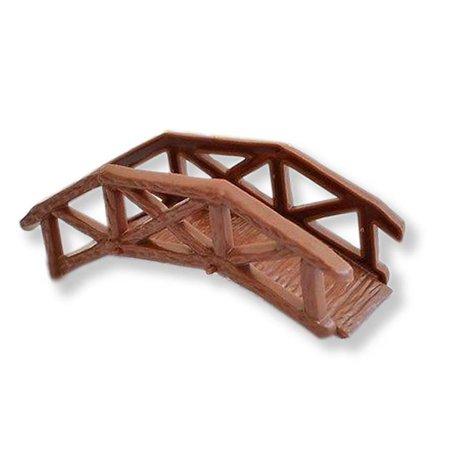 Wooden Garden Bridge Cake Topper Craft DIY Model Projects - Halloween Cakes Diy