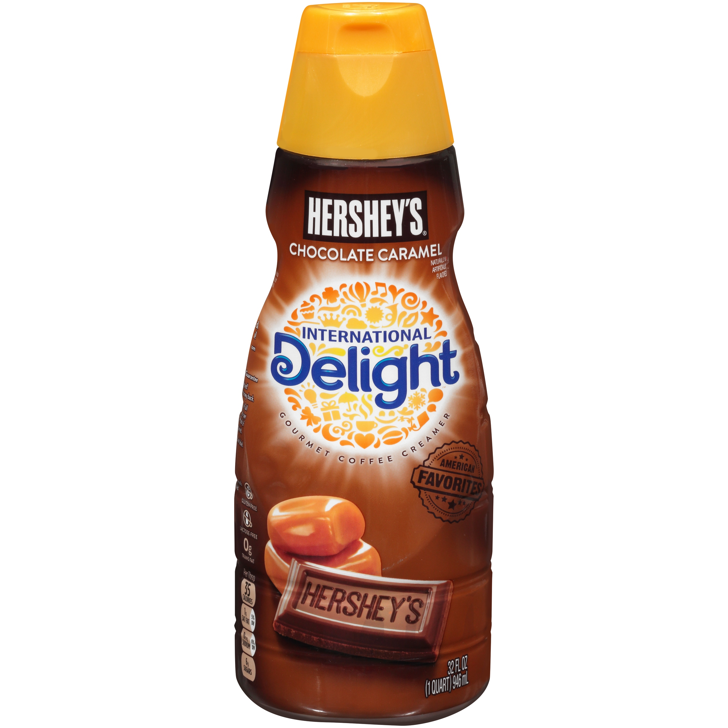International Delight Hershey's Chocolate Caramel Coffee Creamer ...