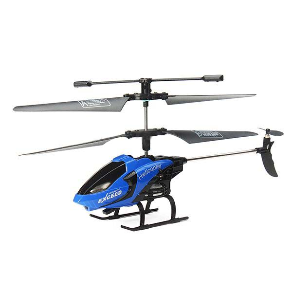 FQ FQ777-610 AIR FUN 3.5CH RC Remote Control Helicopter RTF With Gyro Dark Blue