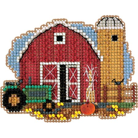 Mill Hill® Harvest Barn Counted Cross-Stitch Kit](Mill Hill Halloween Cross Stitch)