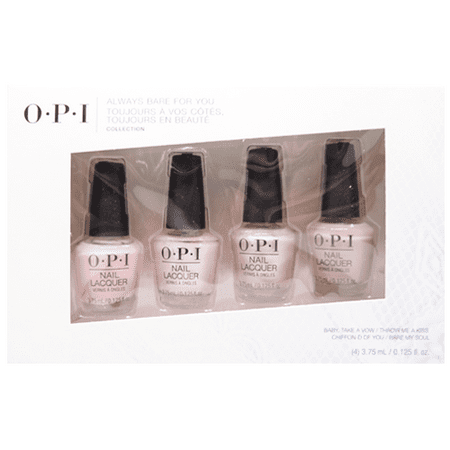 OPI Mini Always Bare For You Collection Spring 2019 Nail Lacquer Set of 4