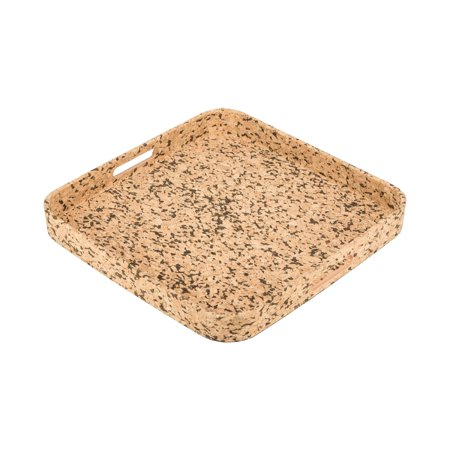 Square Cork Serving Tray