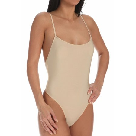 Women's Only Hearts 8288 Second Skin Thong - Skin Tone Body Suits