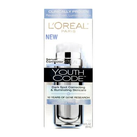 (L'Oreal Paris Youth Code Serum Corrector Daily Treatment, 1.0 FL OZ)