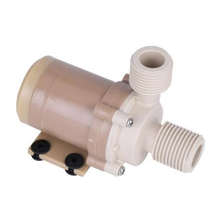 Sonew Coupleurs 1/2 pour moteur sans balai, pompe à eau chaude à circulation chaude 100 ℃ CC 100 V Coupleurs pour moteur sans balai 1/2 à pompe chaude, pompe à eau pour circulation chaude - image 1 de 7