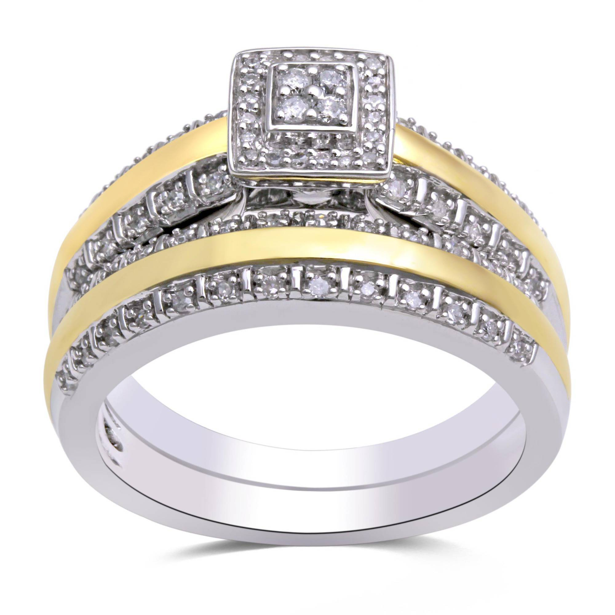 Inspirational Wedding Ring Sets for Him and Her Walmart