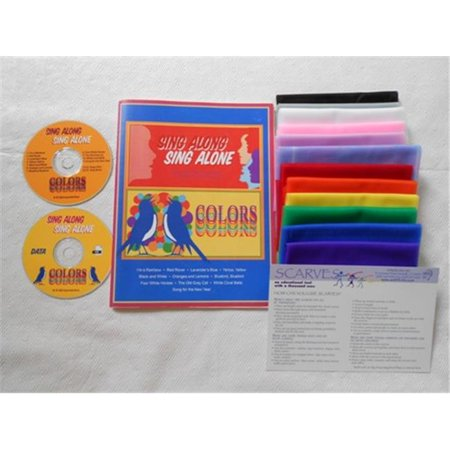 arts education IDEAS SCIDSASACSK Colors: Childrens Music and Movement Activity Kit