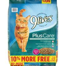 Cat Food: 9Lives Plus Care
