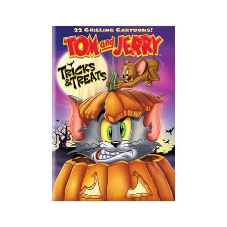 Tom & Jerry: Tricks & Treats (DVD) - Halloween Tom And Jerry Games